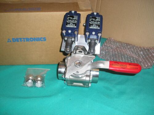 "FLOWSERVE WORCESTER 1-1/4"" STAINLESS STEEL BALL VALVE Assembly , DET-TRONICS NEW"