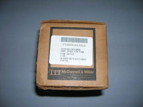 ITT McDonnell & Miller  FLOW SWITCH 5930-00-181-3868   s1
