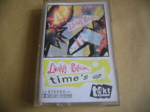 LIVING COLOUR Time&#039;s Up CASSETTE POLAND - <span itemprop='availableAtOrFrom'>Bielsko-Biala, Polska</span> - LIVING COLOUR Time&#039;s Up CASSETTE POLAND - Bielsko-Biala, Polska