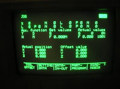 Siemens Sinumerik 810 6fx1128-1ba00 With Modules Tested Warranty Sn 2384
