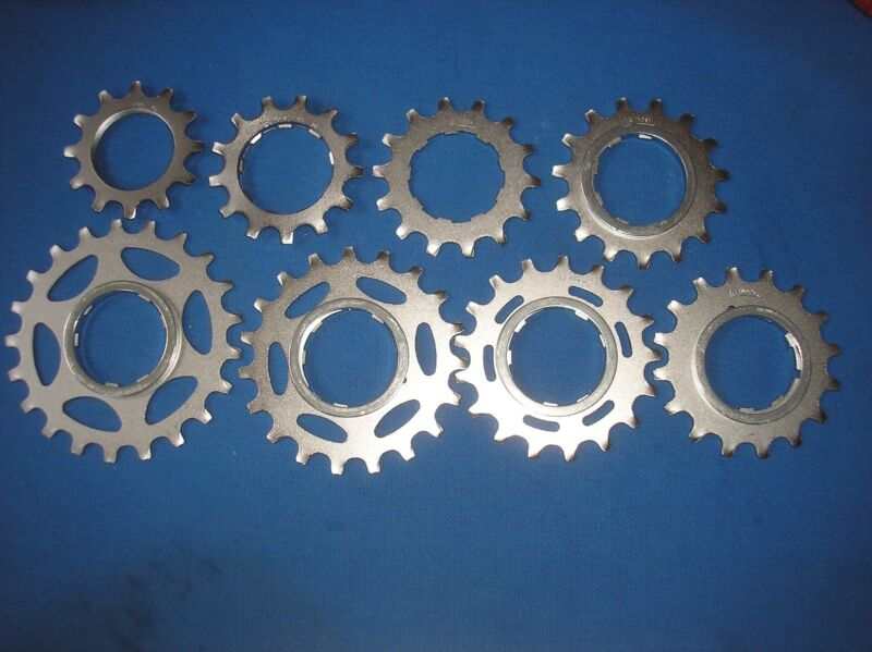 NOS Shimano Dura Ace 13T UniGlide Threaded Cassette Sprocket with 6-Speed Spacer