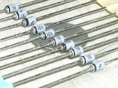 10 New Fairchild Glass 1n4738a 8.2v Zener Reference Diode 8.2 Volt 1w 1 Watt Usa
