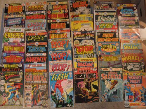 Wow! BIG Lot of *100* Early/Mid 70s (Bronze) DC COMICS! Superman/Flash/Oddball++