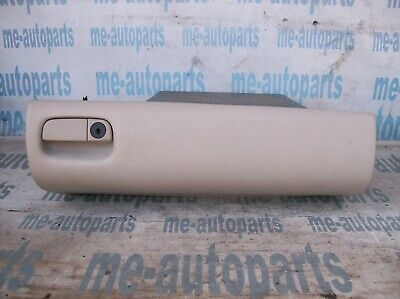 1998-2004 CADILLAC SEVILLE OEM GLOVE COMPARTMENT BOX DOOR W/ LATCH SHALE