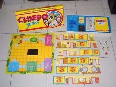 CLUEDO JUNIOR Walt Disney Editrice Giochi 1993 OTTIMO Clue Zio Paperone