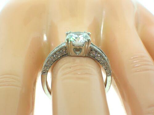 TACORI PLATINUM BA4361 MOUNTING 0.65 CTW DIAMONDS + BOX-SIZE 6.25US-RETAIL $5270
