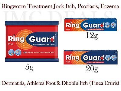 RING GUARD Antimykotische Creme zur schnellen Linderung Ringwurm Hautinfektionen
