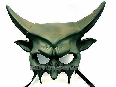 Burlesque Halloween-party (Halloween Masquerade Ball Devil Mask Horn Costume Prom Burlesque Halloween Party)