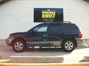 2004 Hyundai Santa Fe December Special V6 Awd Suv With Ac C