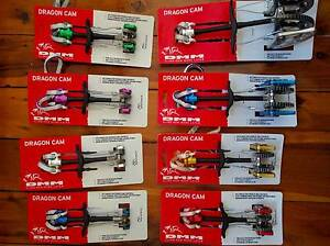 Set of 8 Brand New DMM Dragons Trad Rock Climbing Cams Chatswood Willoughby Area Preview