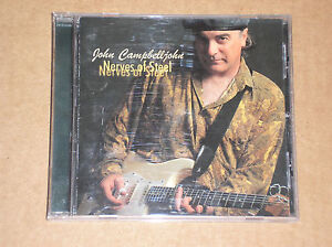 JOHN-CAMPBELLJOHN-TRIO-NERVES-OF-STEEL-CD-COME-NUOVO-MINT