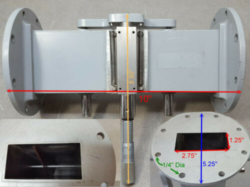 Waveguide Calibrated Attenuators Model S 380 A