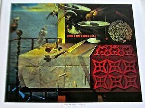 SALVADOR-DALI-Poster-Print-Still-Life-Fast-Moving-Still-live-not-very-still