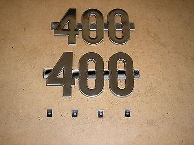 Ih  Farmall 400  New  400 Side Emblems For Tractors  20-22-12