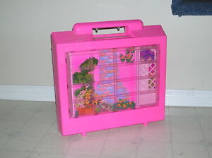 Barbie Doll Dream House 1990's in carry case