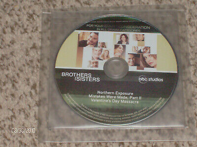 """Brothers & Sisters"" ABC TV Series! 3 RARE episode! Emmy Preview DVD!"