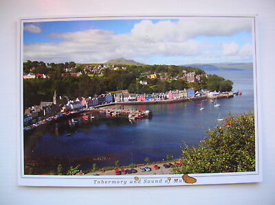Mull - Tobermory Bay and Sound of Mull. (Ronald W Weir)