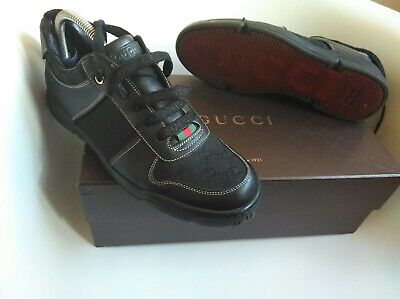 Gucci mens trainers size 7  made in italy authentic 100%