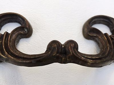 """Gorgeous Bronzed Antique Hardware Vintage Drawer Pull French Provincial 3""""center 5"""