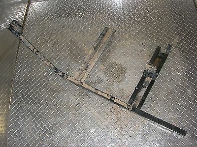 01 Polaris 77 RANGER 500 4X4 LEFT FLOOR BOARD SUPPORT
