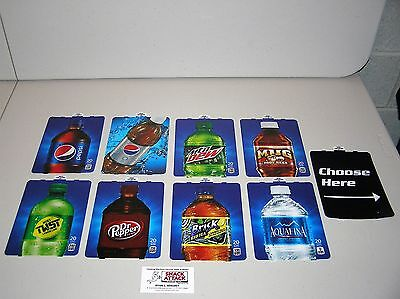 Dixie Narco 276hvv 501e Soda Vending Machine Bottle Vend Label Variety Pack