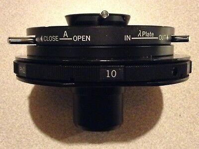Nikon Dic Lwd 0.52 Condenserfor Diaphot Microscopes