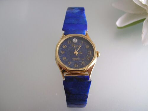 Reconstructive Lapis stainless steel stretch band women