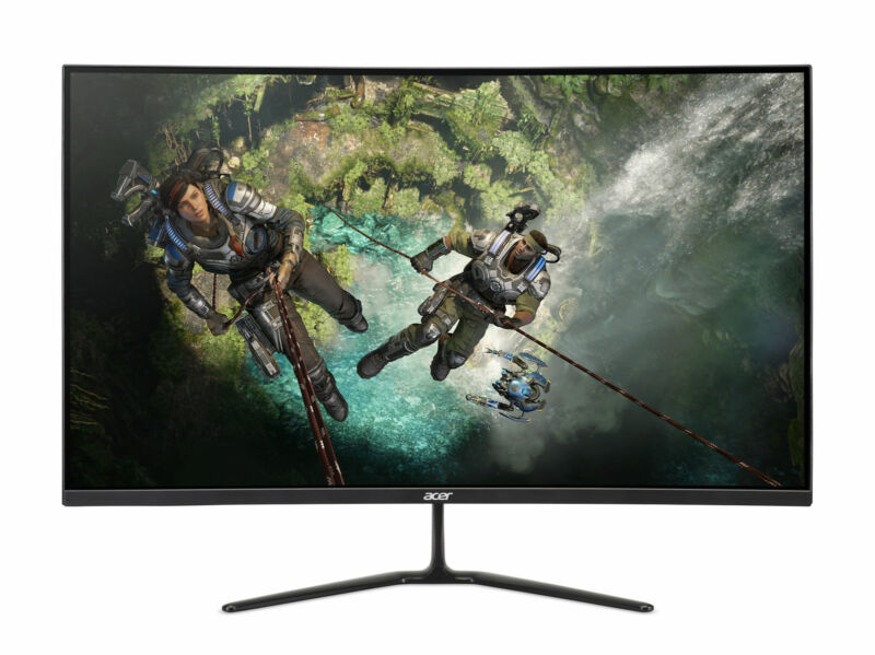 "Acer ED320QR - 31.5"" Curved Monitor Full HD 1920x1080 16:9 VA 1ms 144Hz 300Nit"