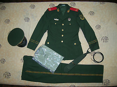 Obsolete 15's series China Armed Police Force ( CAPF ) Man Soldier Uniform,Set