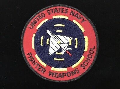 U.S. NAVY FIGHTER WEAPONS SCHOOL PATCH