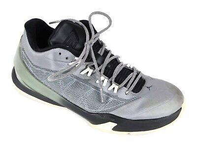 00bfb2395dda5e Jordan CP3 VIII 8 Chris Paul Basketball Shoes Mens 8 Leather Gray and Black