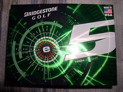 Bridgestone E5 Golf Balls - BRAND NEW Bridgestone E5 Golf 1 Dozen High Flight 5EWX6D