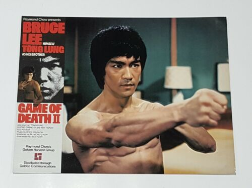 Bruce Lee Tower of Death Tong Lung RARE Original 1982 Set of 13 Lobby Cards