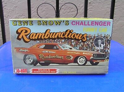 JOHAN ORIGINAL ISSUE GENE SNOW RAMBUNCTIOUS FUNNY CAR
