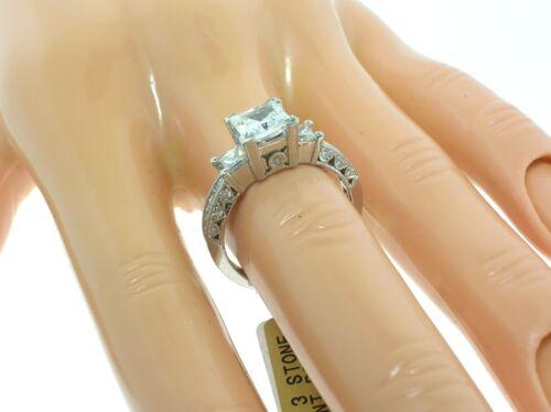 Tacori Platinum Ht2264 Mounting 0.80 Ctw Diamonds + Box-size 6.5 Us-retail $6780
