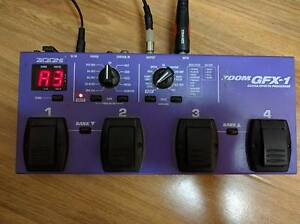 Zoom GFX-1 Guitar Effect Processor Ultimo Inner Sydney Preview