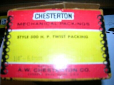 Chesterton Style 500 H.p. Twist 14 Mechanical Packing