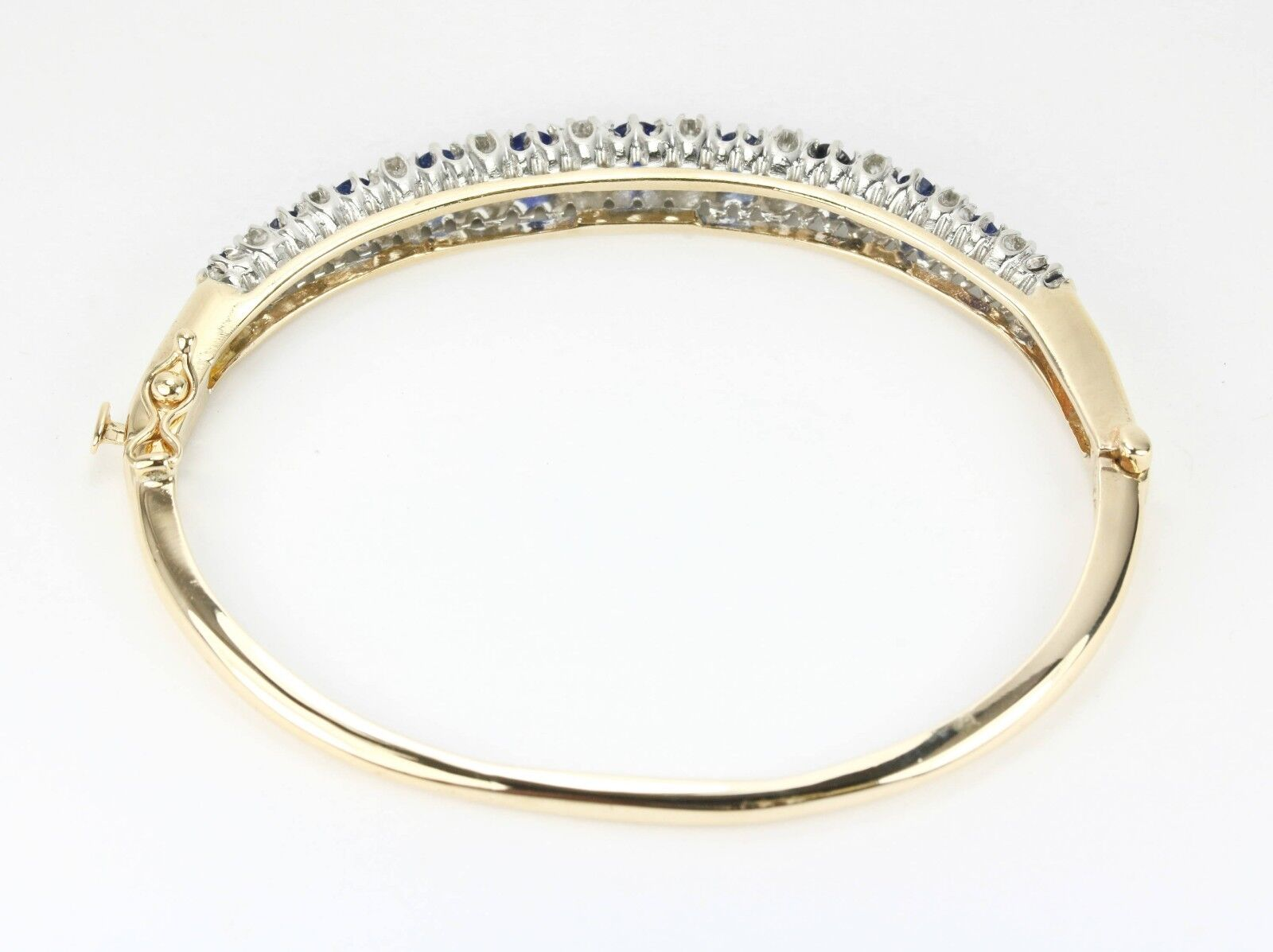 bangle gabriel and gold white bracelet bracelets bangles fashion sapphire diamond