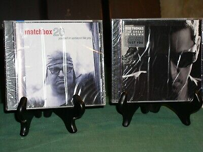 2- CDs ~~ MATCHBOX 20 (YOURSELF...) & ROB THOMAS (THE GREAT)  (BRAND NEW SEALED)