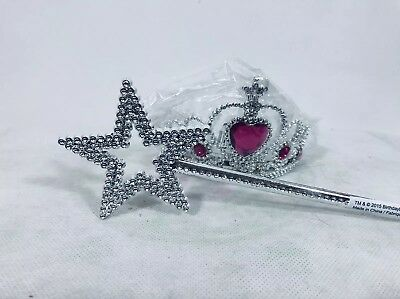 Dress Up Princess Fairy Good Witch Crown Wand Pretend Costume