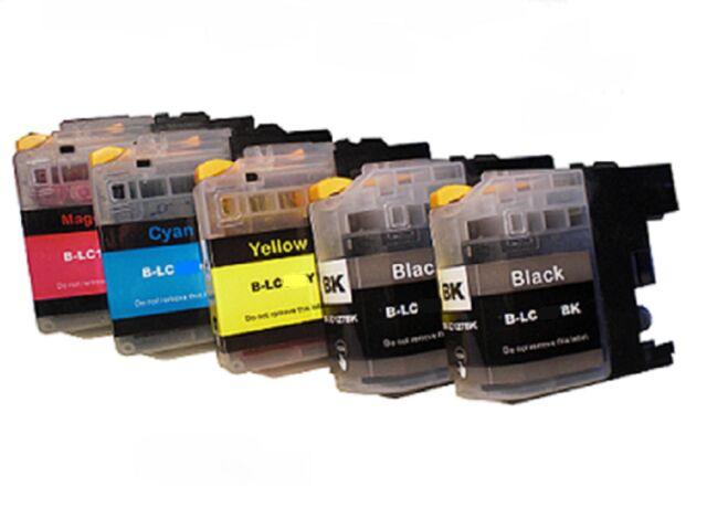 5 Printer Cartridges for Brother MFC-J5620 DW DCP-J562 MFC-J480DW MFC-J680DW