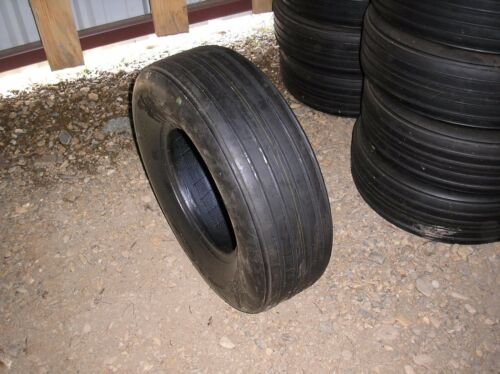 Two New 9.5L-14  8 ply Implement Tire