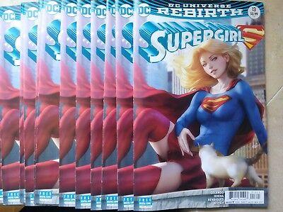 SUPERGIRL #13 ARTGERM VARIANT  Rebirth DC Comics NM 9/12/2017 HOT IN HAND