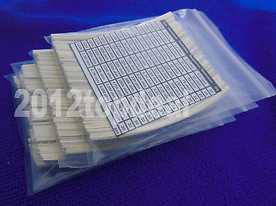 1206 3216 Smd Chip Resistors 64 Value Kit 1 10m 5 640pcs