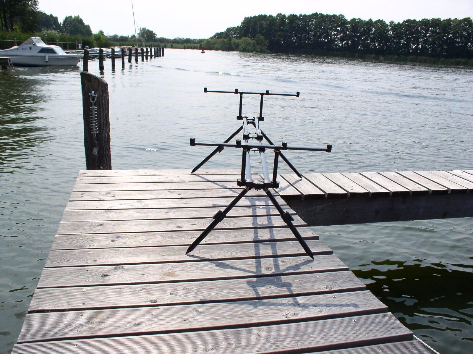 "Fox Horizon Duo Rod Pod für 4 Ruten + Tasche + 36"" Pod Extension Legs"