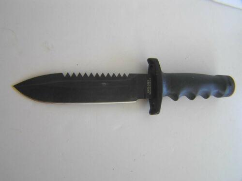 Explorer Wilderness Survival Knife # 21-049 By Gutmann  Vintage Hunting Bowie