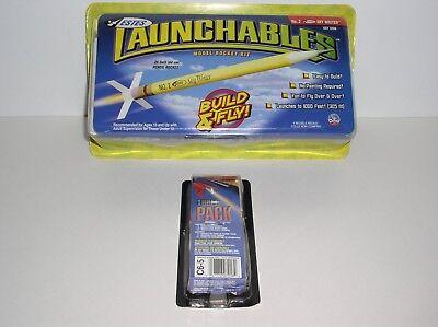 Estes Launchables Sky Writer NO. 2 Model Rocket Kit + Flight Pack Included New Flight Model Rocket