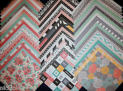 12x12 Scrapbook Paper Best Jen Hadfield Designer Home Made Pebbles Modern 60 (Best Modern Home Designs)
