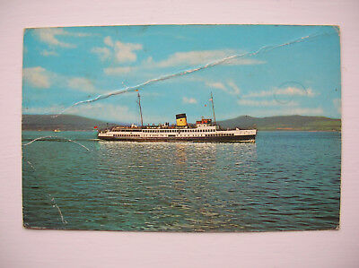 TS Queen Mary 2 - Firth of Clyde Steamer. (1971)