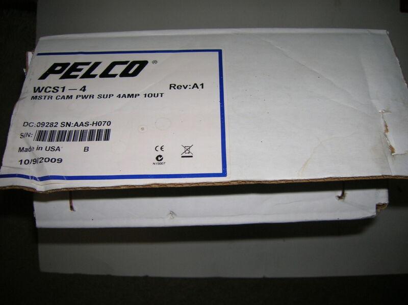 NEW Pelco WCS1-4 Master Camera Power Supply